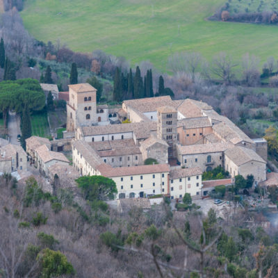ABBEY of FARFA by car and ferry