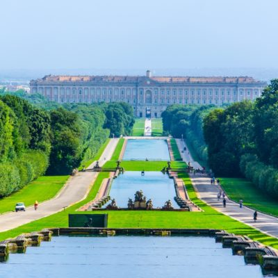 POMPEII and THE ROYAL PALACE of CASERTA