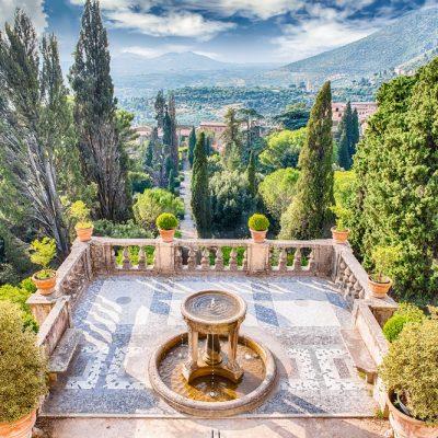 ROME COUNTRYSIDE CASTELLI ROMANI AND TIVOLI